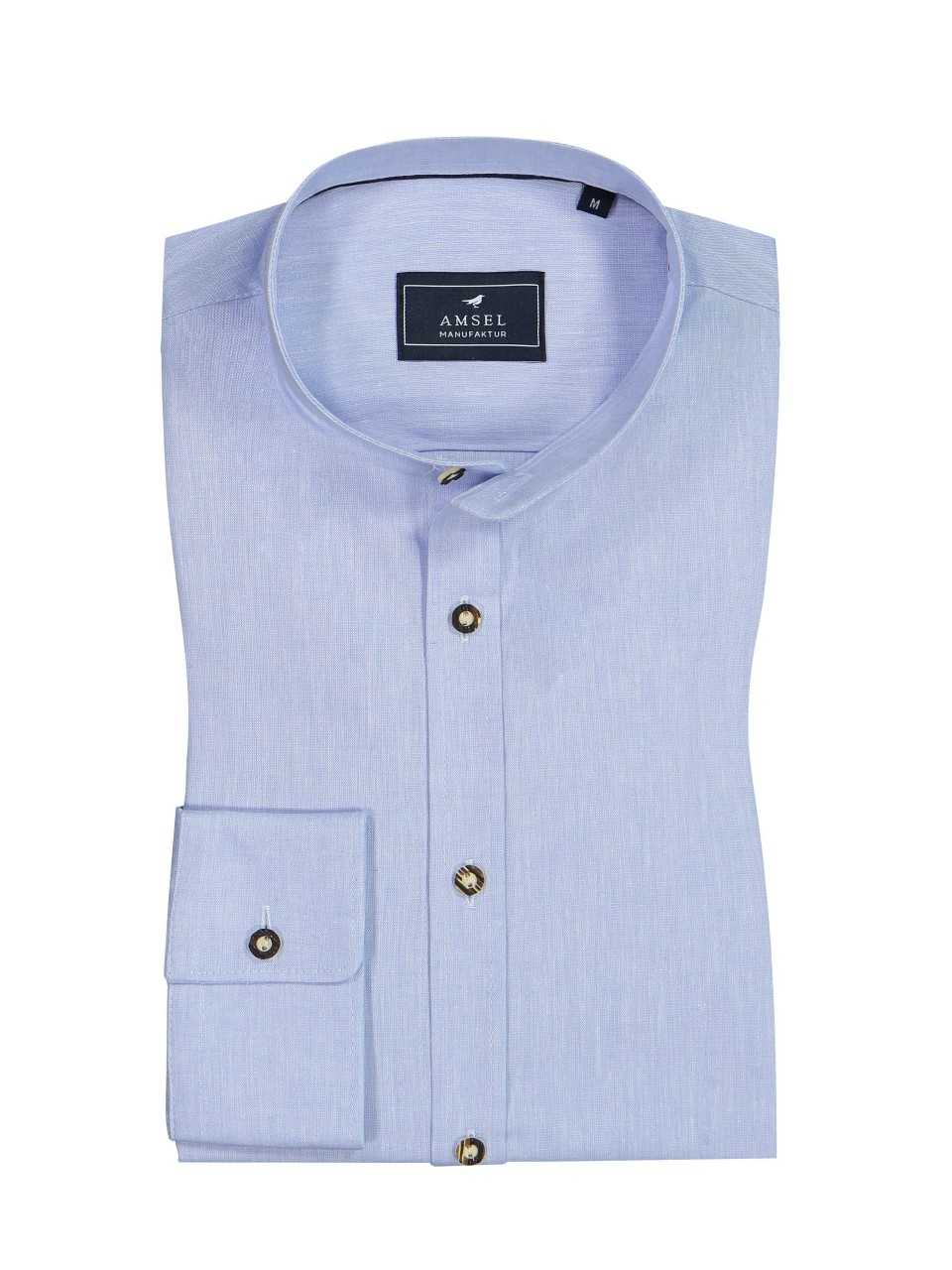 Hemd Mick - Leinen hellblau